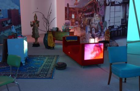 Reset Pipilotti Rist Himalaya Goldsteins Stube At Pinakothek Der