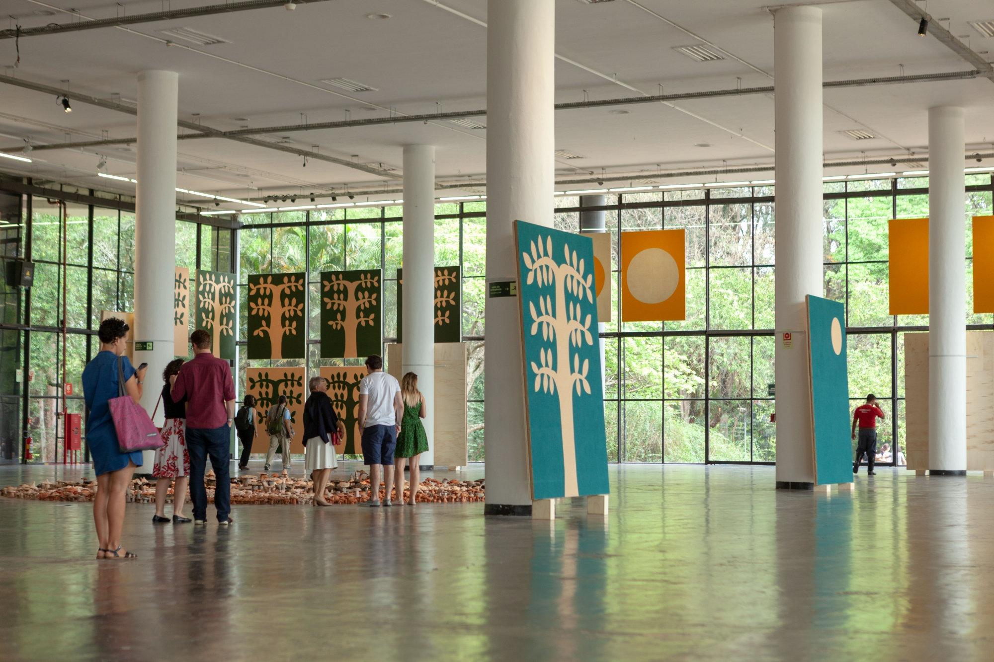 33. São Paulo Biennial at Bienal de Sao Paulo Sao Paulo ...